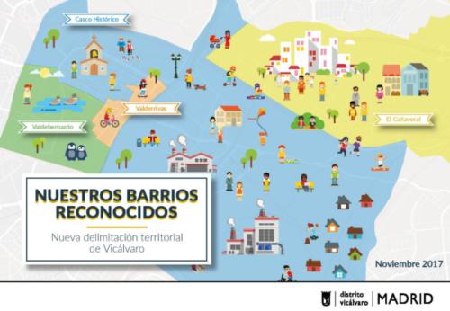 El Cañaveral ya es, oficialmente, un barrio de Vicálvaro
