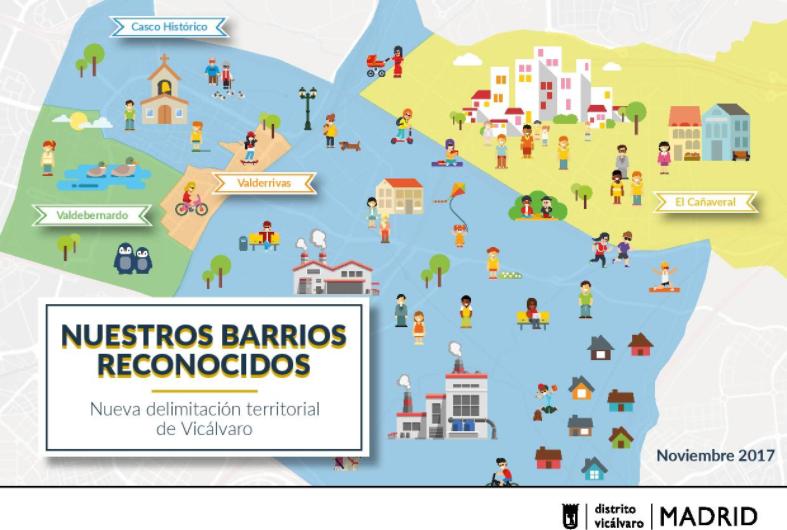 El Cañaveral pasa a ser oficialmente parte del distrito de Vicálvaro